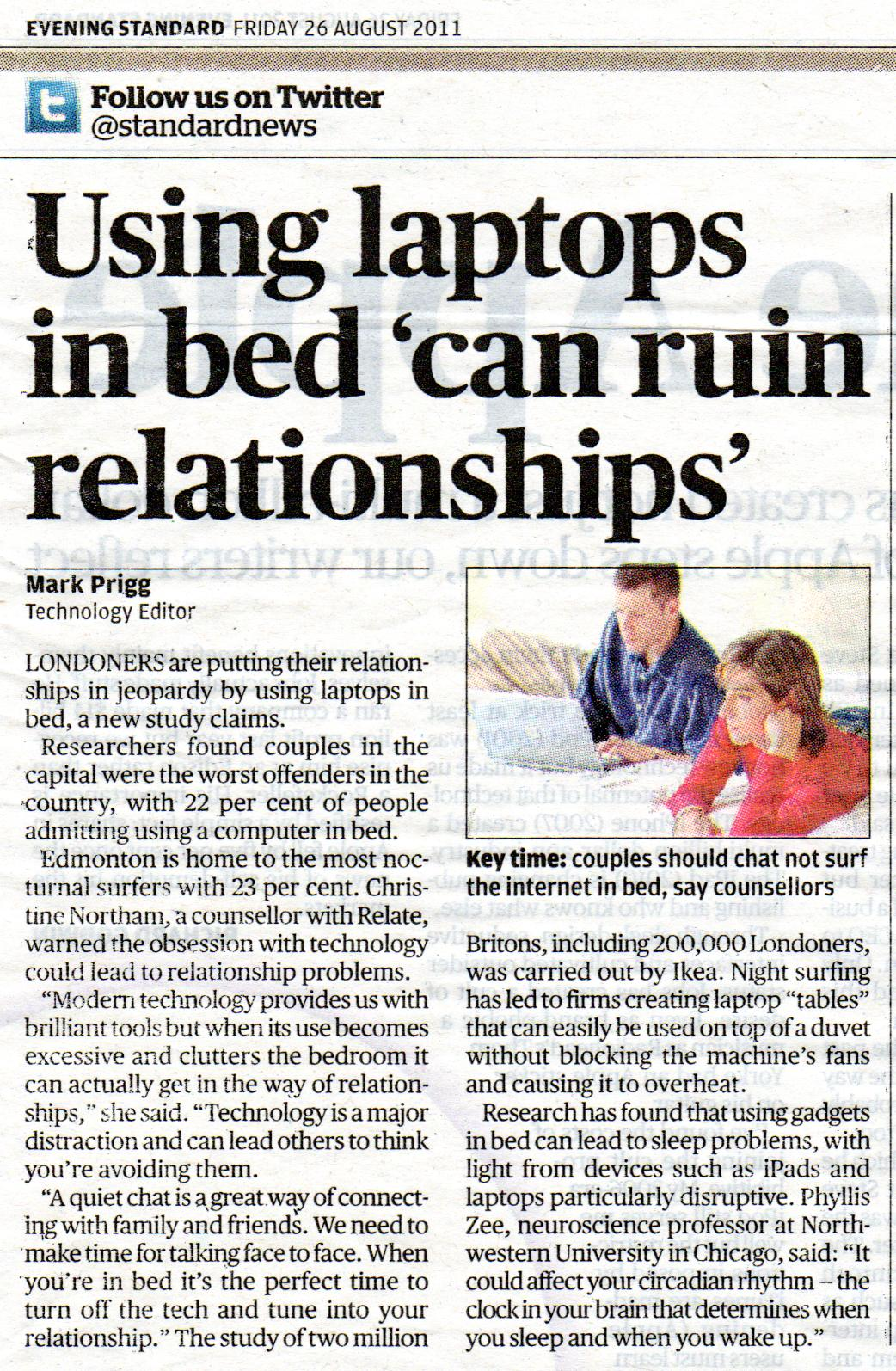 does technology ruin relationships